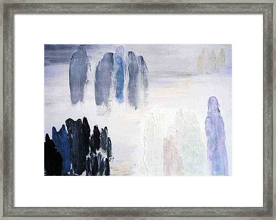 People Come And They Go Framed Print by Bruce Combs - REACH BEYOND