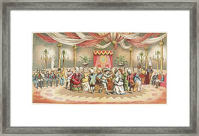 People Dancing Framed Print by British Library