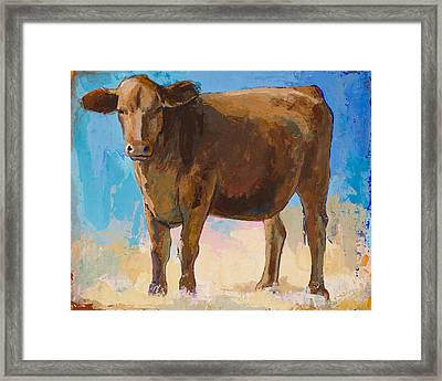 People Like Cows #1 Framed Print