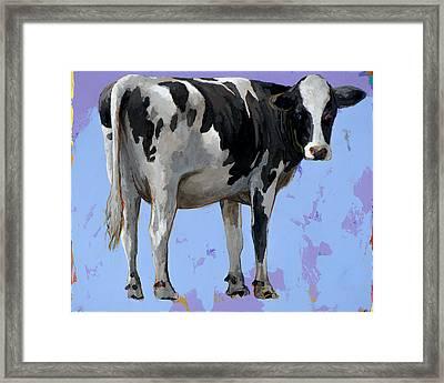 People Like Cows #11 Framed Print