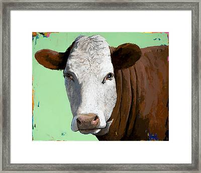People Like Cows #14 Framed Print