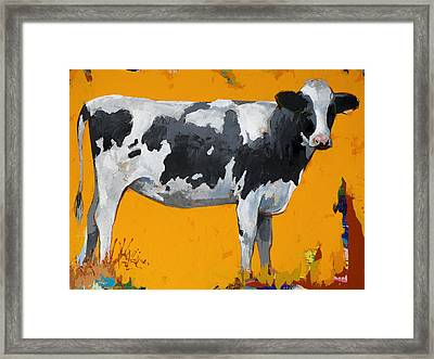 People Like Cows #16 Framed Print by David Palmer
