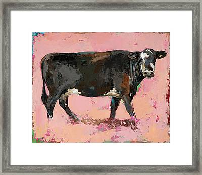 People Like Cows #2 Framed Print