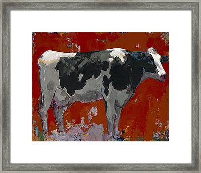 People Like Cows #3 Framed Print