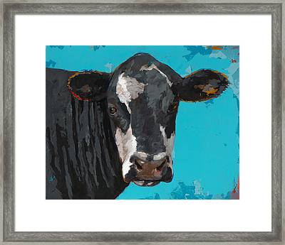 People Like Cows #8 Framed Print by David Palmer