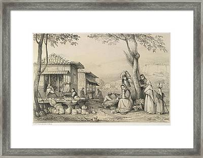 People Of Madeira Framed Print by British Library