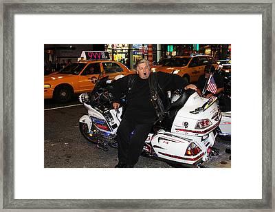 People Of New York City Framed Print by David Byron Keener