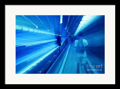 Fast-paced World Framed Prints