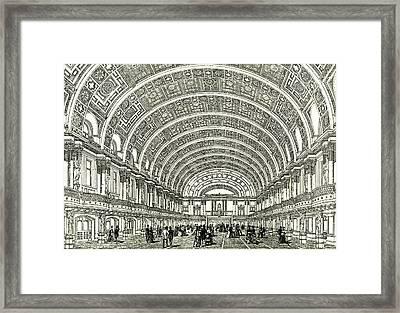Peoples Palace London U.k Framed Print