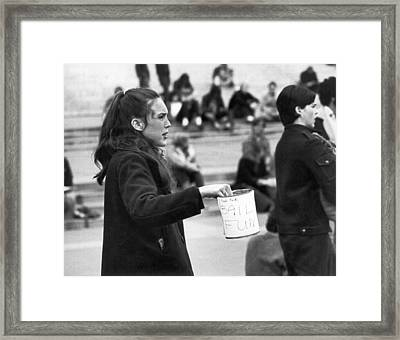People's Park Bail Funds Framed Print