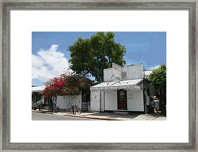 Pepe's Of Key West Framed Print
