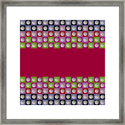 Pepita 5x15 Collage 1 Framed Print by Maria Bobrova