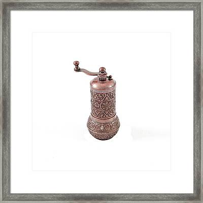 Pepper Grinder Framed Print by Tom Gowanlock