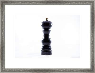 Pepper Mill Framed Print by Daniel Walldorf