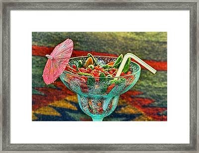 Framed Print featuring the photograph Pepperita by Gary Holmes