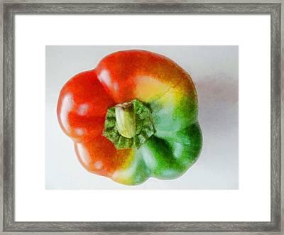 Peppery Allsorts  Framed Print