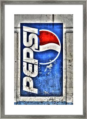 Pepsi Ala Puebla Framed Print