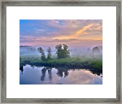 Framed Print featuring the photograph Pequabuck On My Doorstep by Tom Cameron