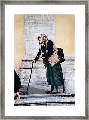 Per Le Bambini Framed Print by Jim  Calarese