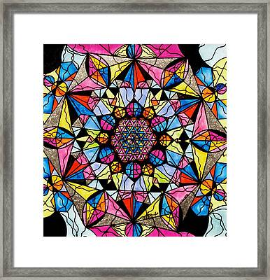 Perceive Framed Print
