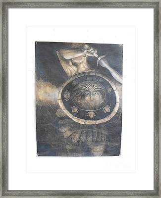 Perceus Framed Print by Sarah Addison