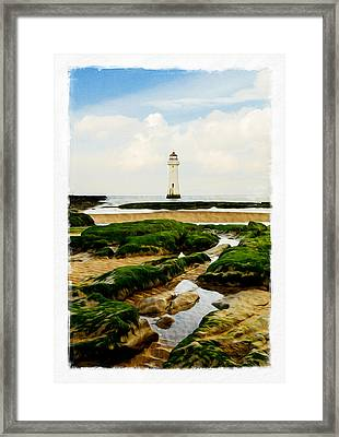 Perch Rock Lighthouse Framed Print