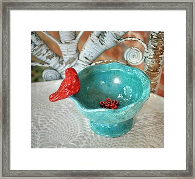 Perched Framed Print by Amanda  Sanford