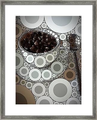 Percolated Framed Print