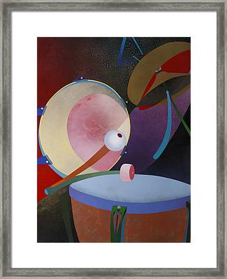 Percuss Framed Print by Fred Chuang