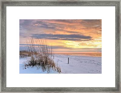 Perdido On The Gulf Framed Print