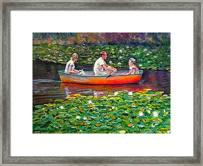 Perfect Afternoon Framed Print by Michael Durst