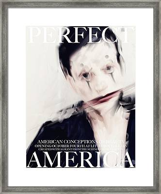 Perfect America Framed Print by H James Hoff
