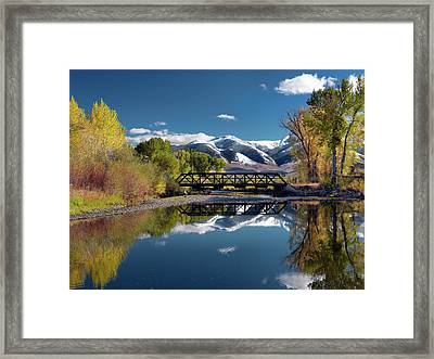 Perfect Autumn Day Framed Print