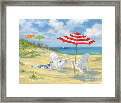 Perfect Beach Framed Print