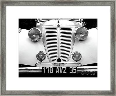 Perfect Bw Framed Print by Newel Hunter