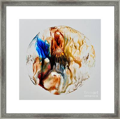 Framed Print featuring the painting Perfect Cell by Christine Ricker Brandt