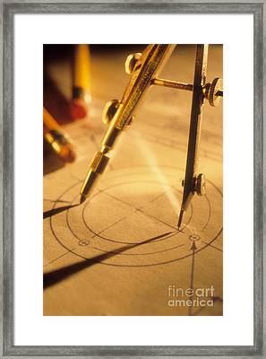 Perfect Circle Framed Print by Novastock
