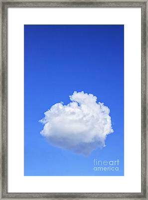 Perfect Cloud Framed Print by Colin and Linda McKie