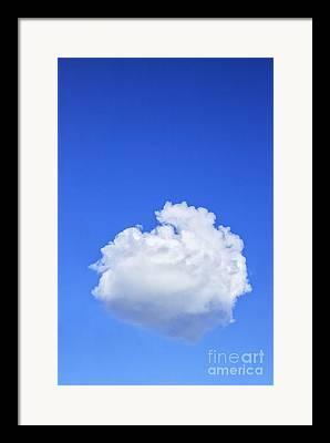 Cumulus Clouds Framed Prints