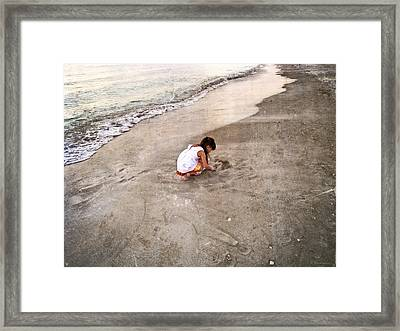 Perfect Company Framed Print by Sharon Cummings
