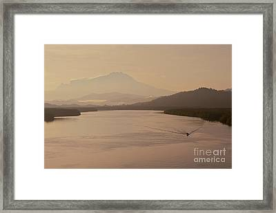 Framed Print featuring the photograph Perfect Dawn  by Gary Bridger