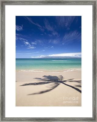 Perfect Day At Napili Framed Print