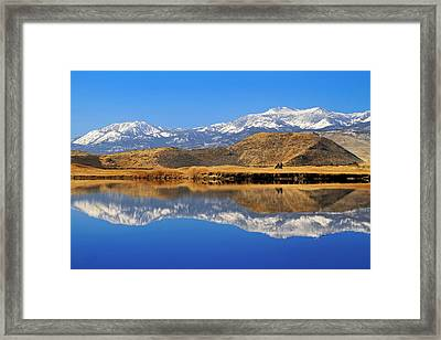 Perfect Day For Golf  Framed Print