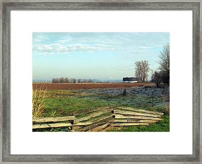 Framed Print featuring the photograph Perfect Day by I'ina Van Lawick