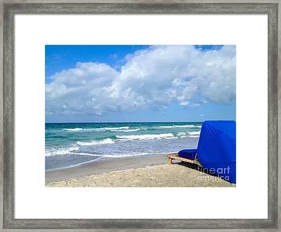 Framed Print featuring the photograph Perfect Day by Margie Amberge