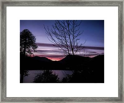 Perfect End Framed Print by Lynn Bolt