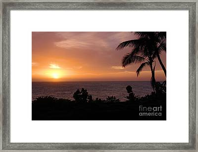 Perfect End To A Day Framed Print