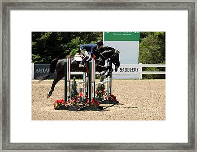 Perfect Form Jumper Framed Print