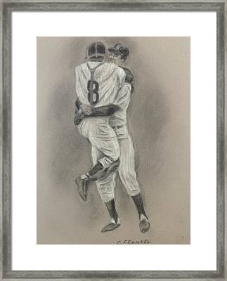 Perfect Game Framed Print