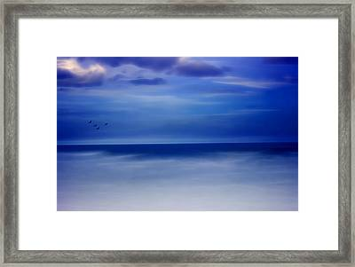 Perfect Harmony Framed Print by Ellen Heaverlo